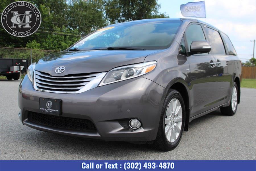 Used Toyota Sienna Limited Premium AWD 7-Passenger (Natl) 2017 | Morsi Automotive Corp. New Castle, Delaware