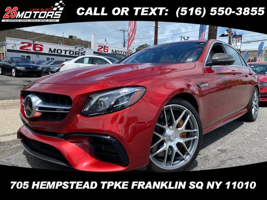 Used Mercedes-Benz E-Class ///AMG AMG E 63 S 4MATIC+ Sedan 2019 | 26 Motors Corp. Bronx, New York