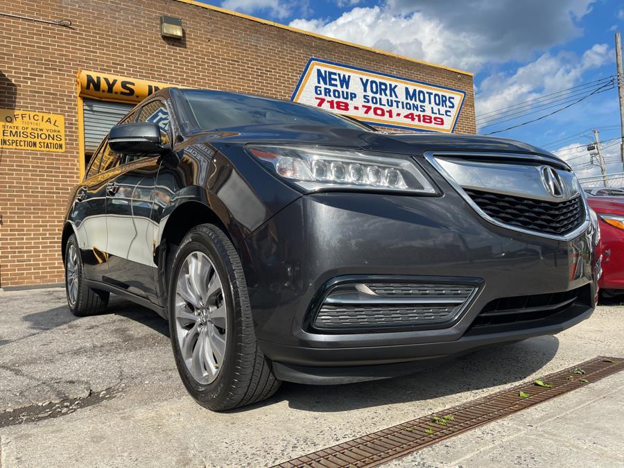 Used Acura MDX SH-AWD 4dr Tech Pkg 2014 | New York Motors Group Solutions LLC. Bronx, New York