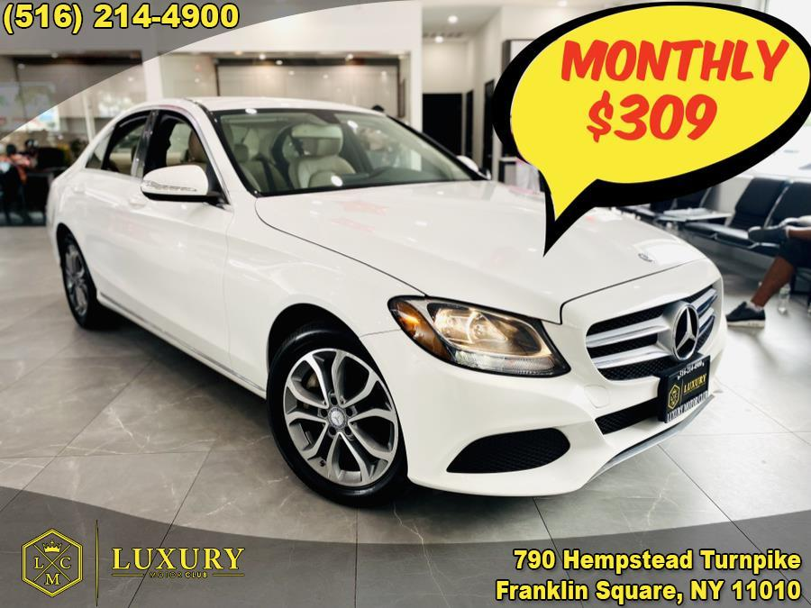 Used Mercedes-Benz C-Class 4dr Sdn C 300 4MATIC 2015 | Luxury Motor Club. Franklin Square, New York