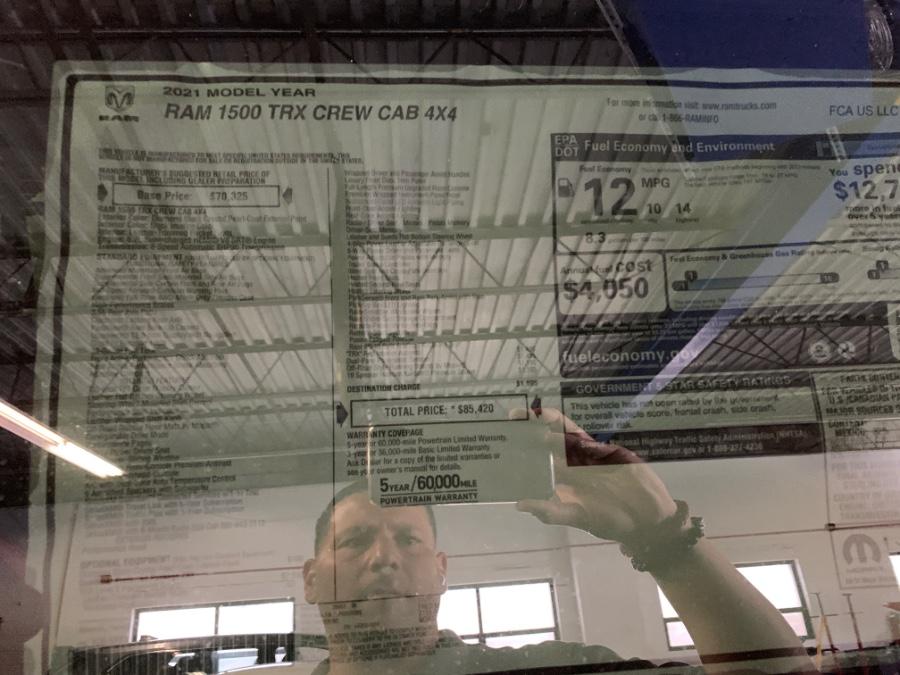 "Used Ram 1500 TRX 4x4 Crew Cab 5''7"" Box 2021 | MP Motors Inc. West Babylon , New York"