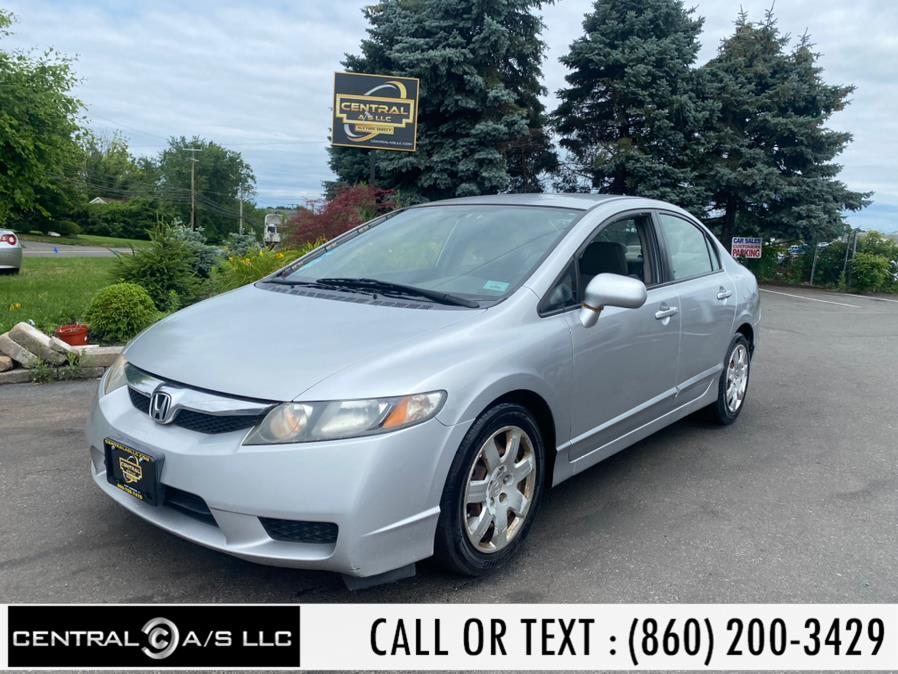 Used Honda Civic Sdn 4dr Auto LX 2010 | Central A/S LLC. East Windsor, Connecticut