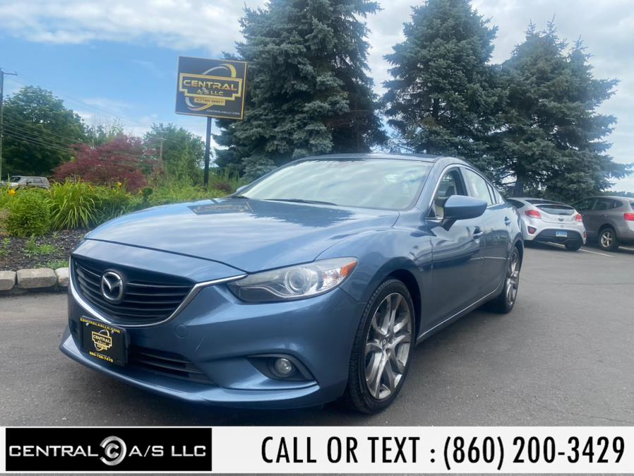 Used Mazda Mazda6 4dr Sdn Auto i Grand Touring 2015 | Central A/S LLC. East Windsor, Connecticut