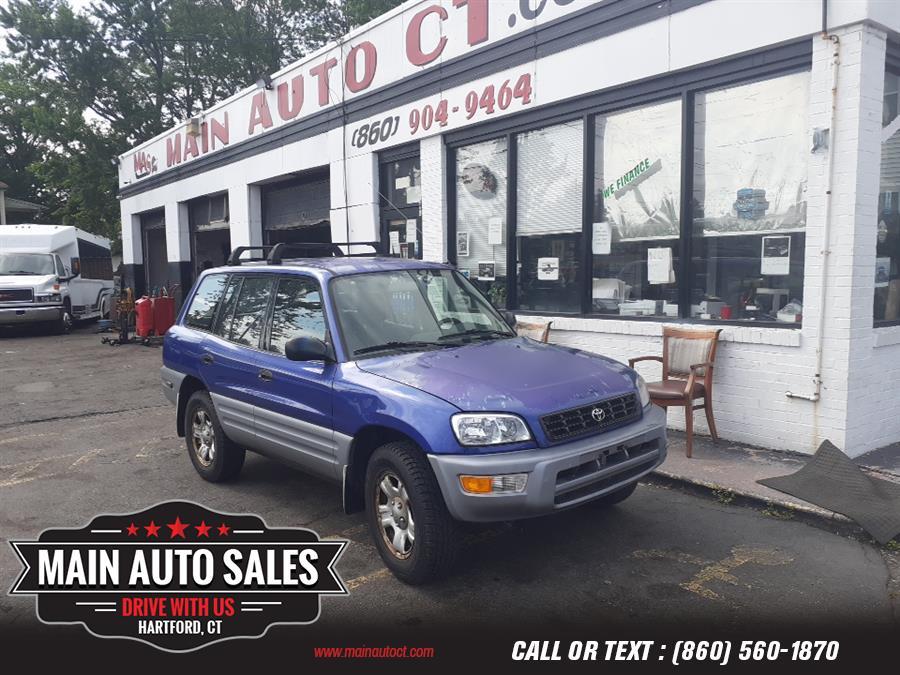 Used Toyota RAV4 4dr Auto 2000 | Main Auto Sales LLC. Hartford, Connecticut