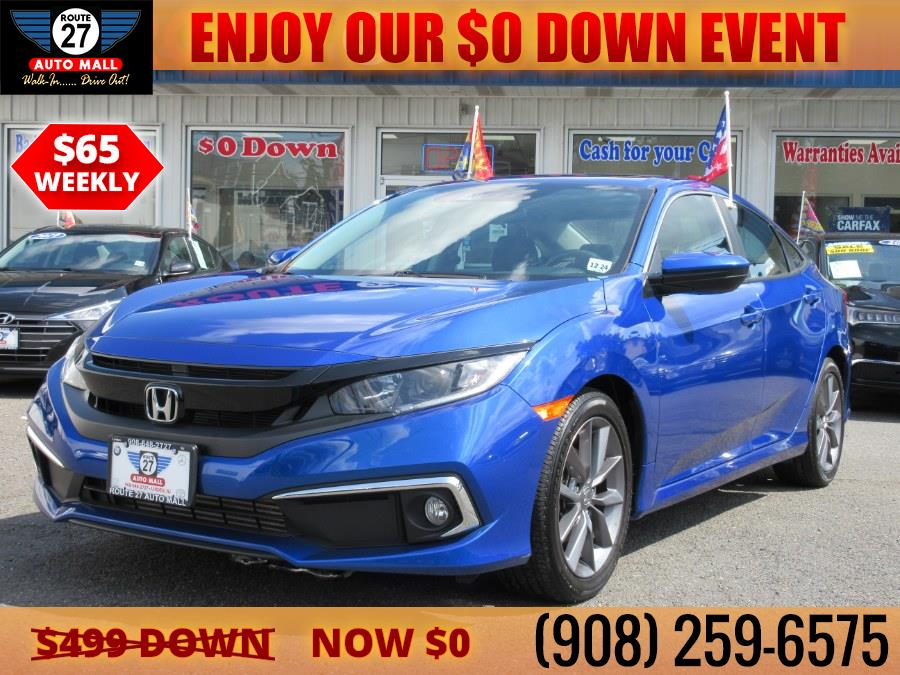 Used 2020 Honda Civic Sedan in Linden, New Jersey   Route 27 Auto Mall. Linden, New Jersey