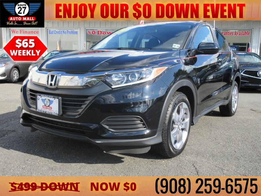 Used 2019 Honda HR-V in Linden, New Jersey | Route 27 Auto Mall. Linden, New Jersey