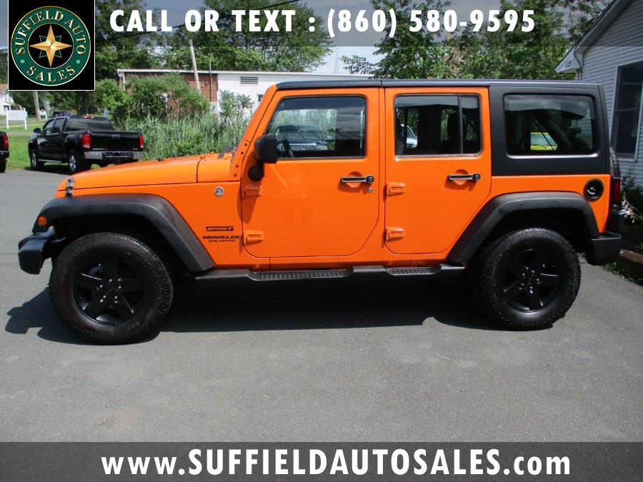 Used 2013 Jeep Wrangler Unlimited in Suffield, Connecticut | Suffield Auto Sales. Suffield, Connecticut