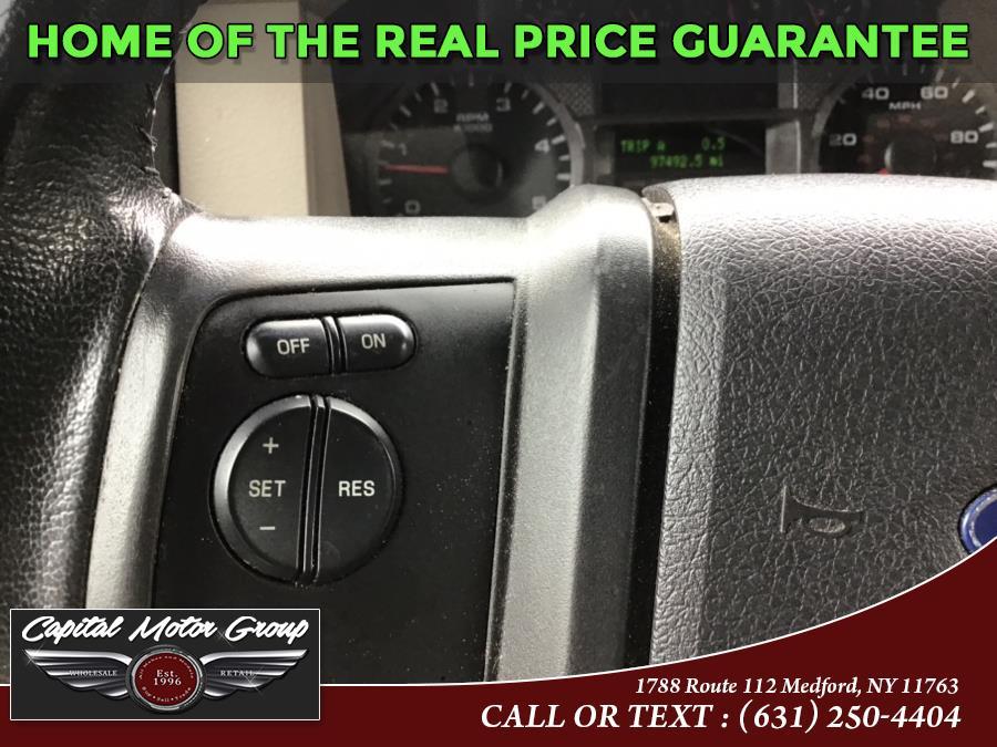 "Used Ford Super Duty F-250 SRW 4WD Crew Cab 156"" XLT 2010 | Capital Motor Group Inc. Medford, New York"
