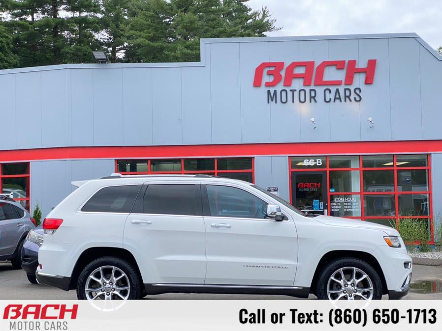 2015 Jeep Grand Cherokee 4WD 4dr Summit, available for sale in Canton , CT
