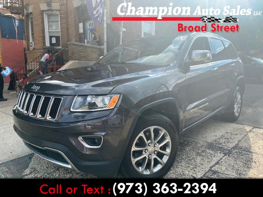 Used 2015 Jeep Grand Cherokee in Newark, New Jersey   Champion Auto Sales. Newark, New Jersey