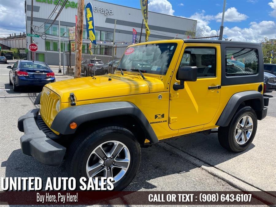 Used Jeep Wrangler X 2009 | United Auto Sale. Newark, New Jersey