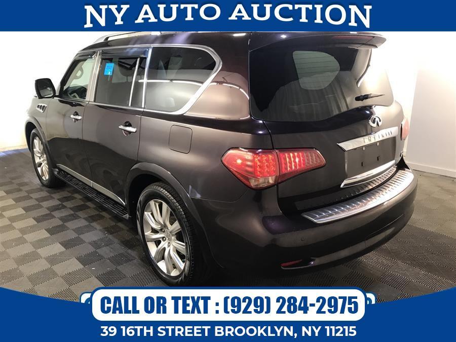 Used INFINITI QX56 4WD 4dr 8-passenger 2011   NY Auto Auction. Brooklyn, New York