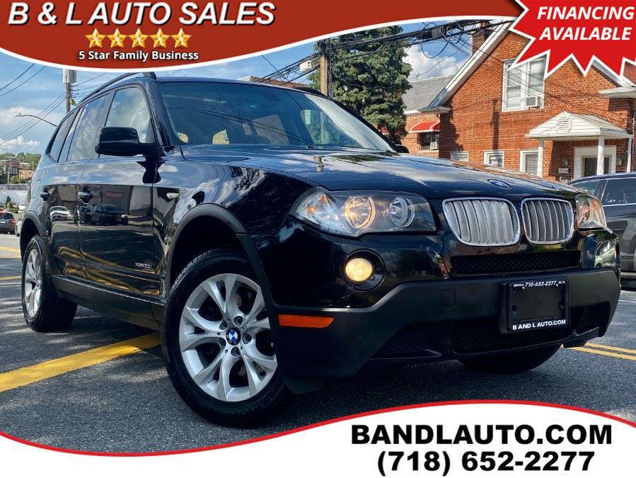 Used 2009 BMW X3 in Bronx, New York | B & L Auto Sales LLC. Bronx, New York