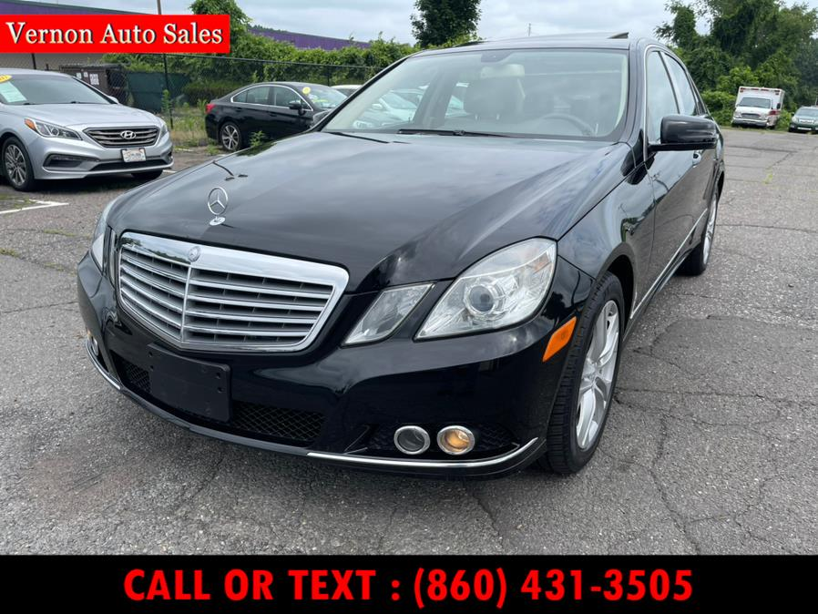 2010 Mercedes-Benz E-Class 4dr Sdn E350 Luxury 4MATIC, available for sale in Manchester, CT