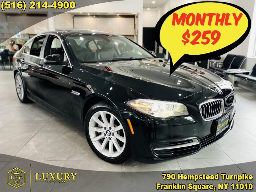 2014 BMW 5 Series 4dr Sdn 535i xDrive AWD, available for sale in Franklin Square, NY