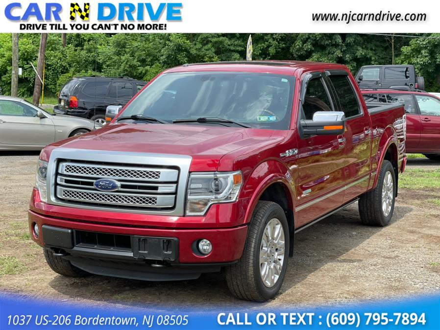 Used Ford F-150 Platinum SuperCrew 6.5-ft. Bed 4WD 2014 | Car N Drive. Bordentown, New Jersey