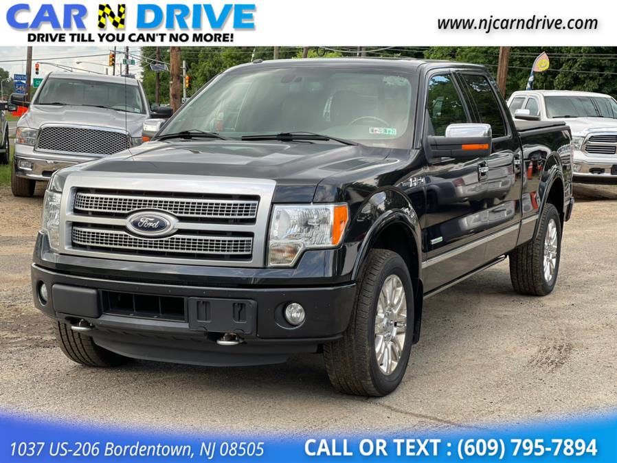 Used Ford F-150 Platinum SuperCrew 5.5-ft. Bed 4WD 2012   Car N Drive. Bordentown, New Jersey