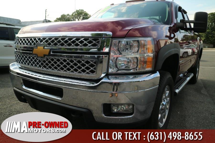 "Used Chevrolet Silverado 2500HD duramax diesel with allison trans 4WD Ext Cab 144.2"" LTZ 2013 | M & A Motors. Huntington, New York"