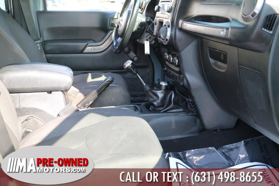 Used Jeep Wrangler Unlimited 4WD 4dr Sport 2015 | M & A Motors. Huntington, New York