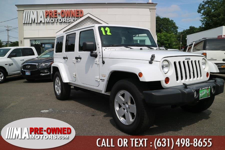 Used Jeep Wrangler Unlimited  saharad 4WD 4dr Sahara 2012 | M & A Motors. Huntington, New York