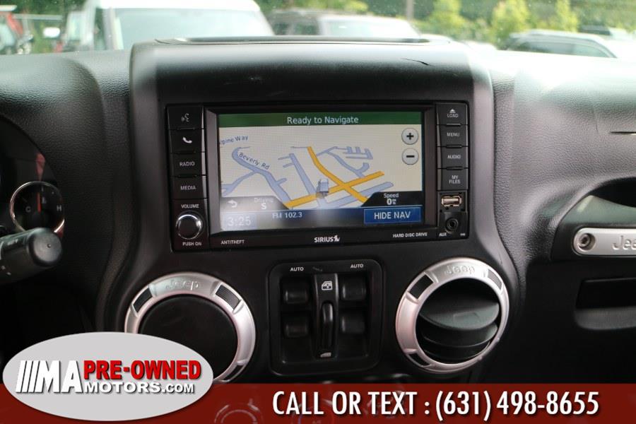 Used Jeep Wrangler Unlimited  saharad 4WD 4dr Sahara 2012   M & A Motors. Huntington, New York