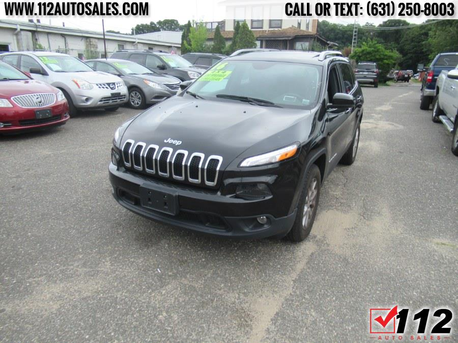 Used Jeep Cherokee 4WD 4dr Latitude 2016   112 Auto Sales. Patchogue, New York