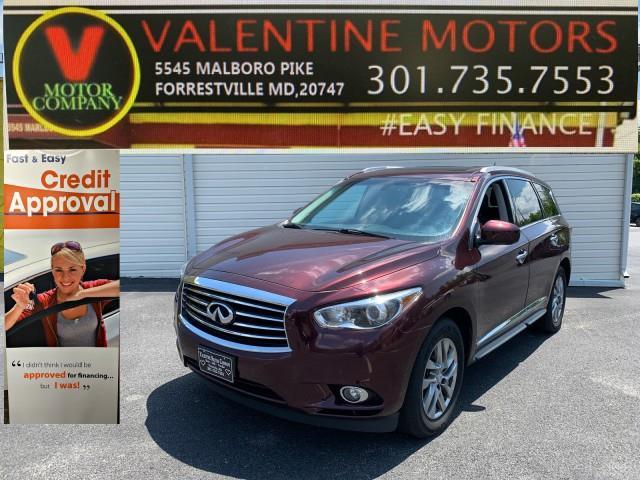 Used Infiniti Jx35  2013   Valentine Motor Company. Forestville, Maryland