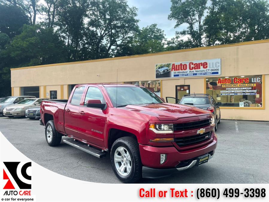 "Used Chevrolet Silverado 1500 4WD Double Cab 143.5"" LT w/2LT 2018 | Auto Care Motors. Vernon , Connecticut"