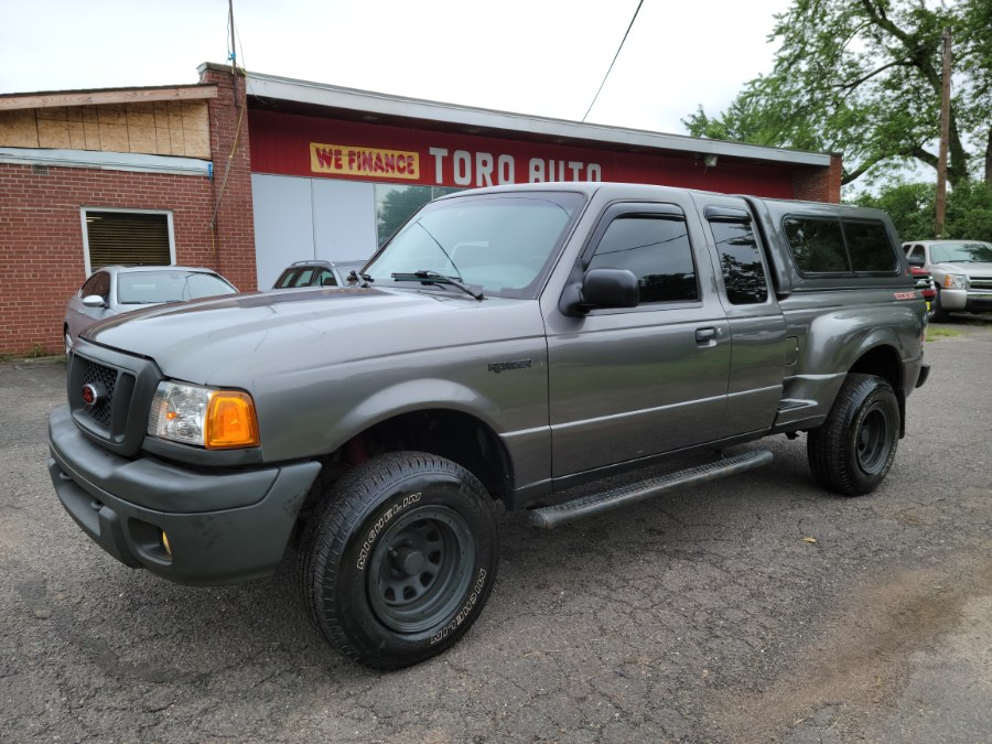 Used Ford Ranger 4WD 4.0 Six Cyl Super Cab Step Side Bed 2004   Toro Auto. East Windsor, Connecticut