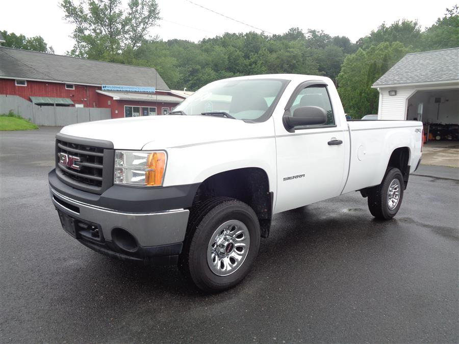 "Used GMC Sierra 1500 4WD Reg Cab 133.0"" Work Truck 2013   Country Auto Sales. Southwick, Massachusetts"
