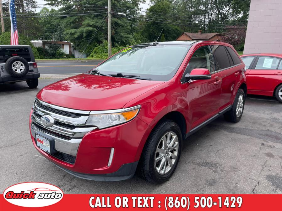 Used Ford Edge 4dr Limited AWD 2012 | Quick Auto LLC. Bristol, Connecticut