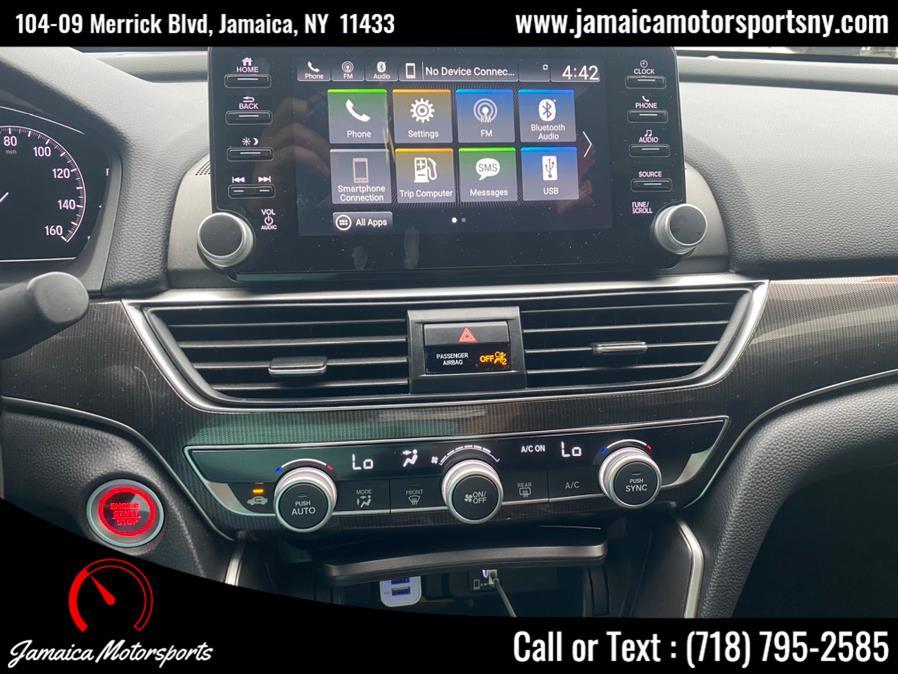 Used Honda Accord Sedan Sport 1.5T CVT 2019   Jamaica Motor Sports . Jamaica, New York