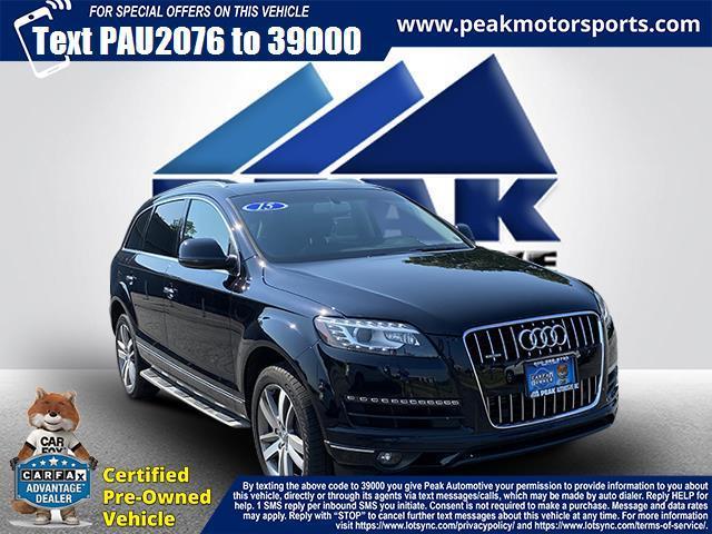 Used Audi Q7 quattro 4dr 3.0T Premium Plus 2015 | Peak Automotive Inc.. Bayshore, New York