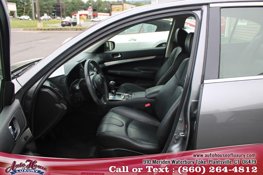 Used INFINITI G37 Sedan 4dr x AWD 2013 | Auto House of Luxury. Plantsville, Connecticut