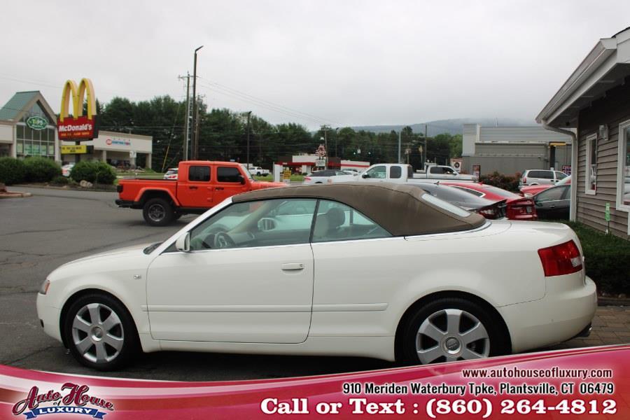 Used Audi A4 2004 2dr Cabriolet 1.8T CVT 2004 | Auto House of Luxury. Plantsville, Connecticut