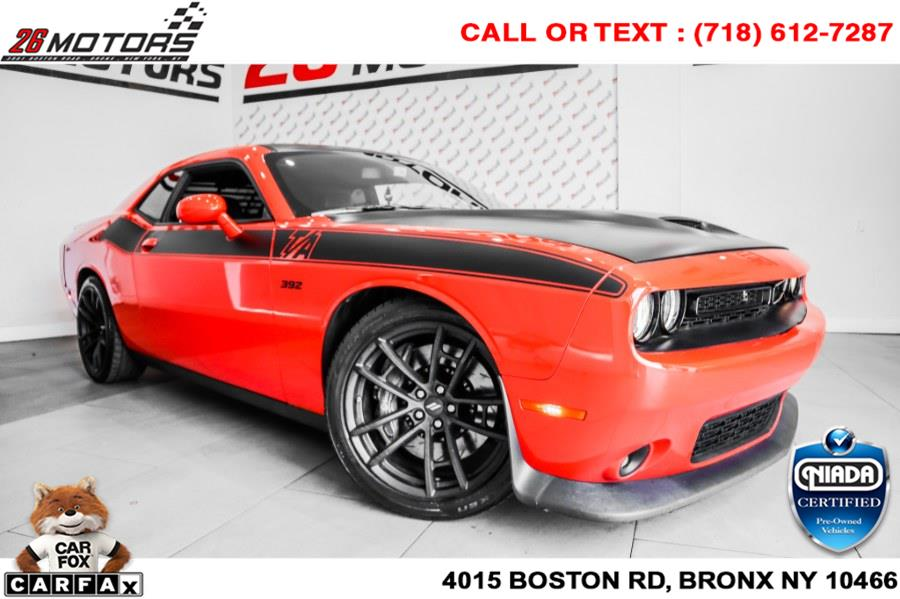 Used Dodge Challenger R/T Scat Pack Coupe 2017   26 Motors Corp. Bronx, New York