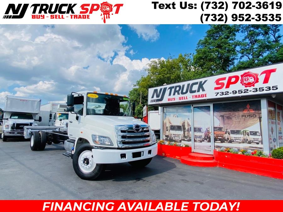 Used 2016 HINO 268A in South Amboy, New Jersey | NJ Truck Spot. South Amboy, New Jersey