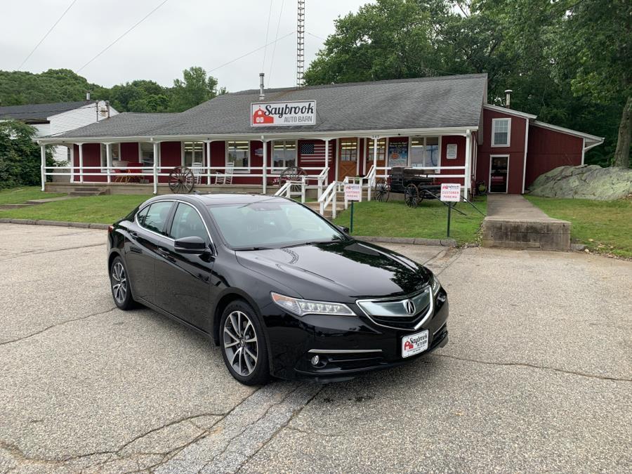 Used Acura TLX 4dr Sdn SH-AWD V6 Advance 2015 | Saybrook Auto Barn. Old Saybrook, Connecticut