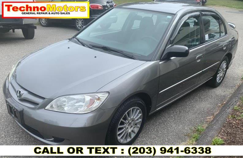 Used Honda Civic Sdn LX AT 2005 | Techno Motors . Danbury , Connecticut