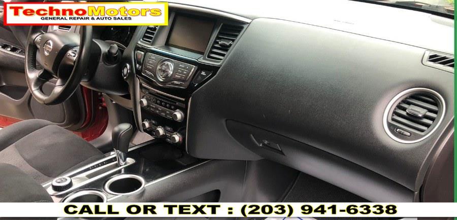Used Nissan Pathfinder 4WD 4dr S *Ltd Avail* 2015   Techno Motors . Danbury , Connecticut