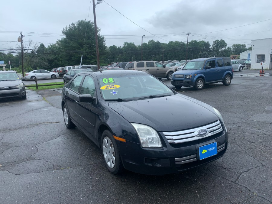 Used Ford Fusion 4dr Sdn I4 S FWD 2008   CT Car Co LLC. East Windsor, Connecticut