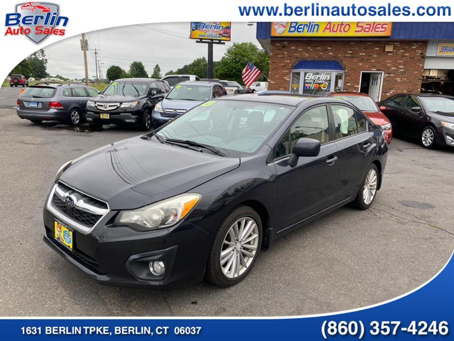 Used 2013 Subaru Impreza Sedan in Berlin, Connecticut | Berlin Auto Sales LLC. Berlin, Connecticut