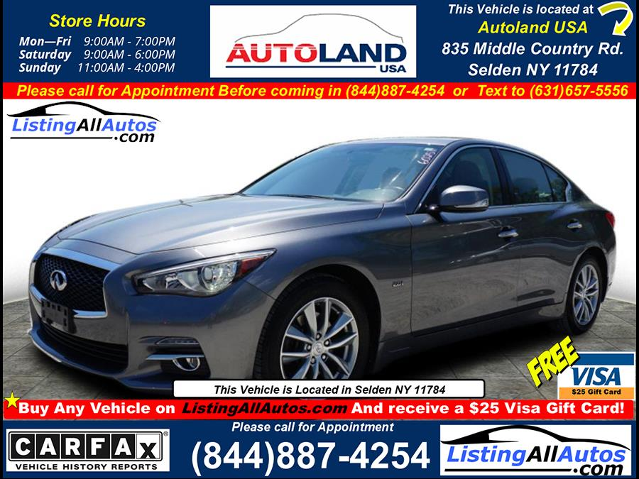 Used 2017 Infiniti Q50 in Patchogue, New York | www.ListingAllAutos.com. Patchogue, New York