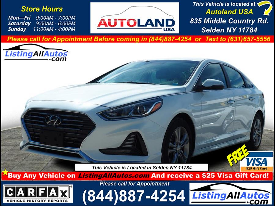 Used 2018 Hyundai Sonata in Patchogue, New York   www.ListingAllAutos.com. Patchogue, New York