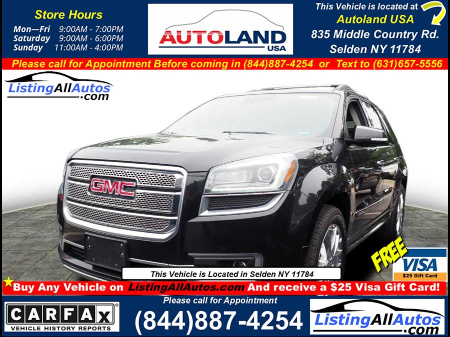 Used 2015 GMC Acadia in Patchogue, New York   www.ListingAllAutos.com. Patchogue, New York