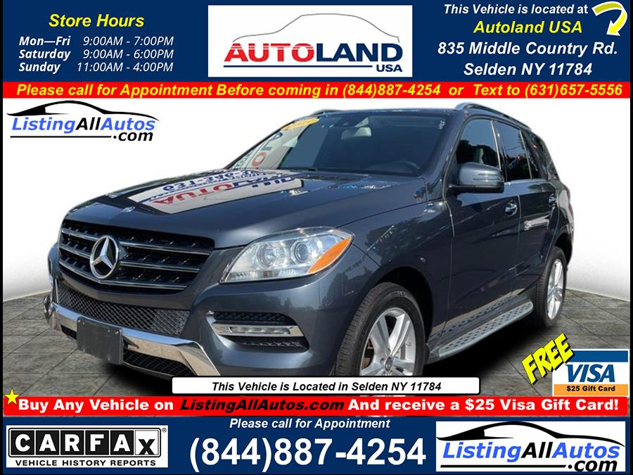 Used 2015 Mercedes-benz M-class in Patchogue, New York | www.ListingAllAutos.com. Patchogue, New York
