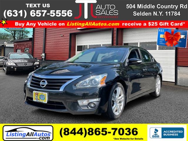 Used Nissan Altima 4dr Sdn V6 3.5 S 2014   www.ListingAllAutos.com. Patchogue, New York