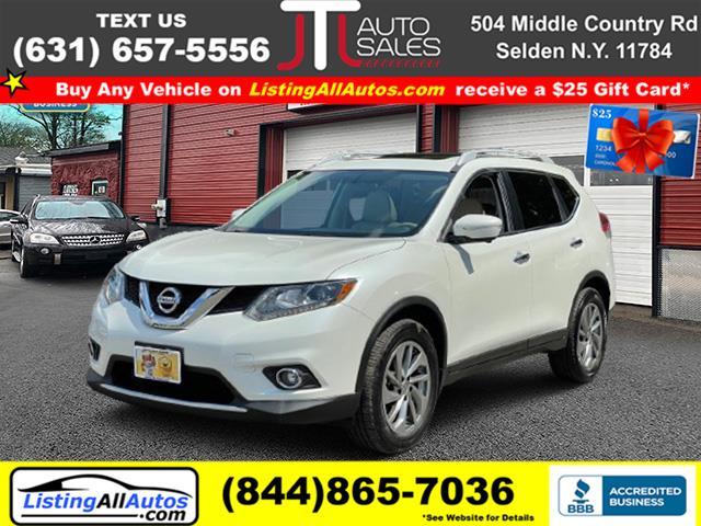 Used Nissan Rogue AWD 4dr SV 2015   www.ListingAllAutos.com. Patchogue, New York