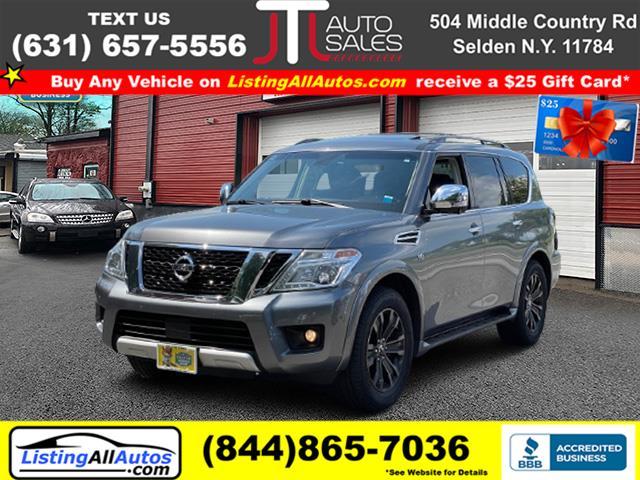Used Nissan Armada 4x4 SV 2017 | www.ListingAllAutos.com. Patchogue, New York