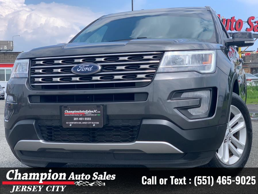 Used Ford Explorer XLT FWD 2017 | Champion Auto Sales of JC. Jersey City, New Jersey
